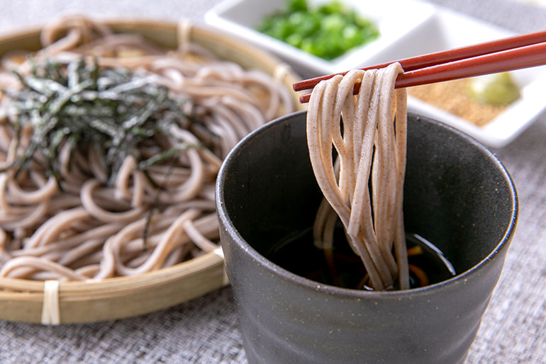 老舗製麺所のそば3種 – 今田製麺所