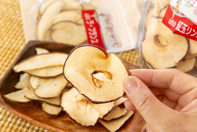ドライフルーツ(りんご ラ・フランス) – 株式会社ベジア