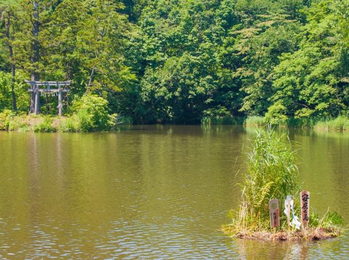 大沼の浮島