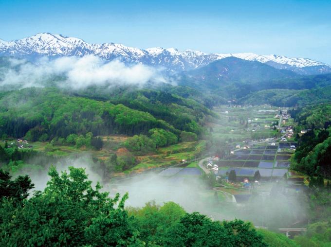 中津川地区の里山風景と里山文化