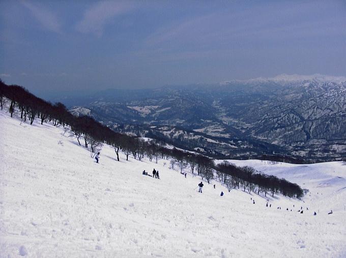 豪雪を活かした春スキー