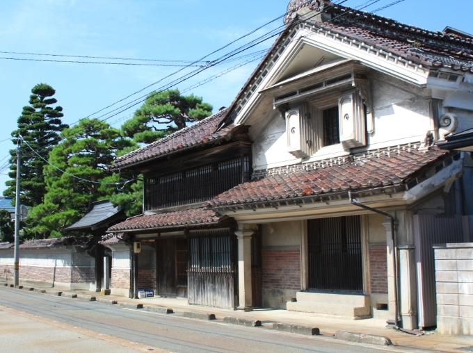 江戸時代の景観を残す町