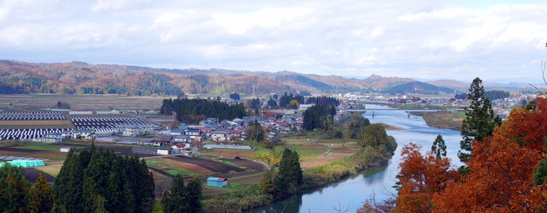 最上川水運の集積地