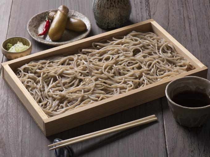大石田産の蕎麦