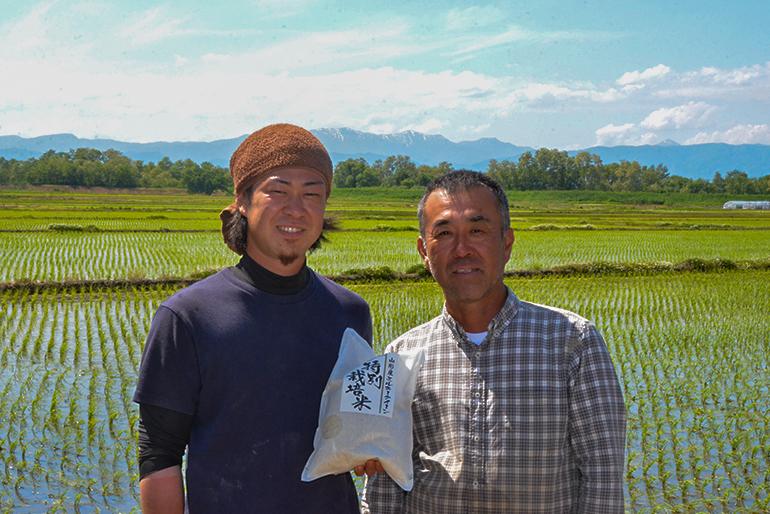 お米は、手をかければ手をかけるほど美味しくなる