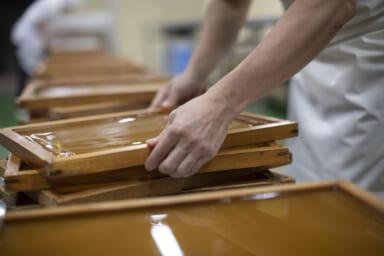 乃し梅製造