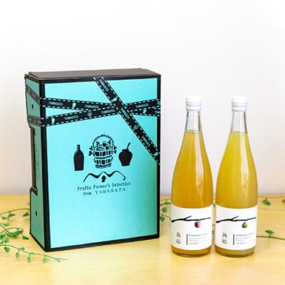 山形県産果汁100%ジュース「無垢」