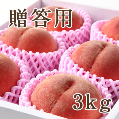 【贈答用】山形県産 白桃 特秀品 3kg