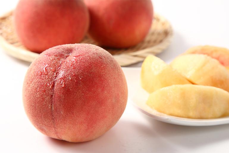 寒暖差で濃厚な味わいに育つ、寒河江市産の桃