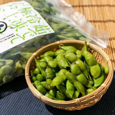 山形県 白山産 冷凍枝豆 だだちゃ豆