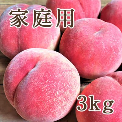 【家庭用】山形県産 桃 3kg