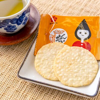 日本初の「うす焼きせんべい」として誕生!
