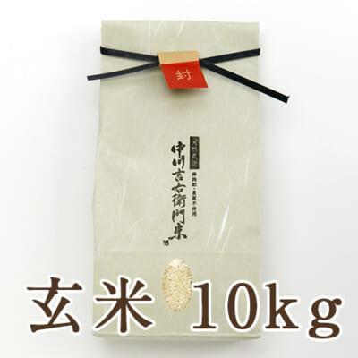 山形県産 自然栽培 亀の尾 玄米10kg