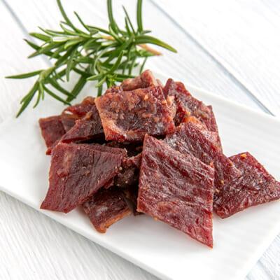 牛肉の旨みを最大限に引き出した特製ビーフジャーキー