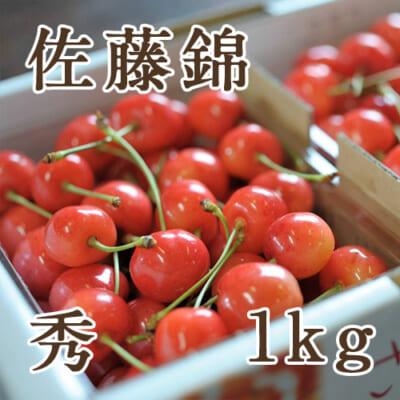 山形県産さくらんぼ 佐藤錦 秀 1kg