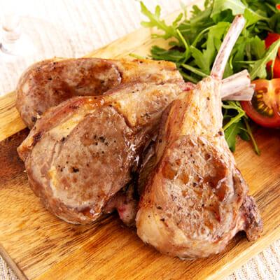 ラムチョップ(骨付きステーキ肉)