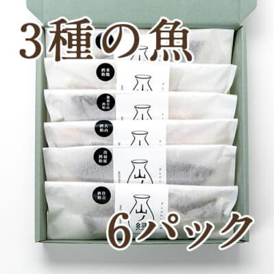 六蔵元酒粕漬け 6パック(化粧箱入)