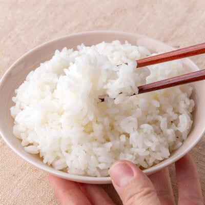 ふっくらとした米粒から、旨みと甘みが広がるお米