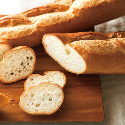 ラスクのために焼く「フランスパン」