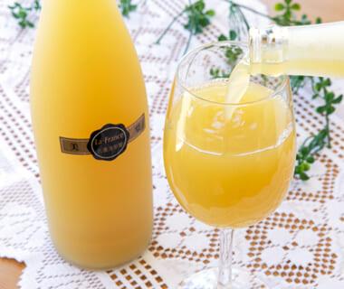 ラ・フランス果汁100%ジュース