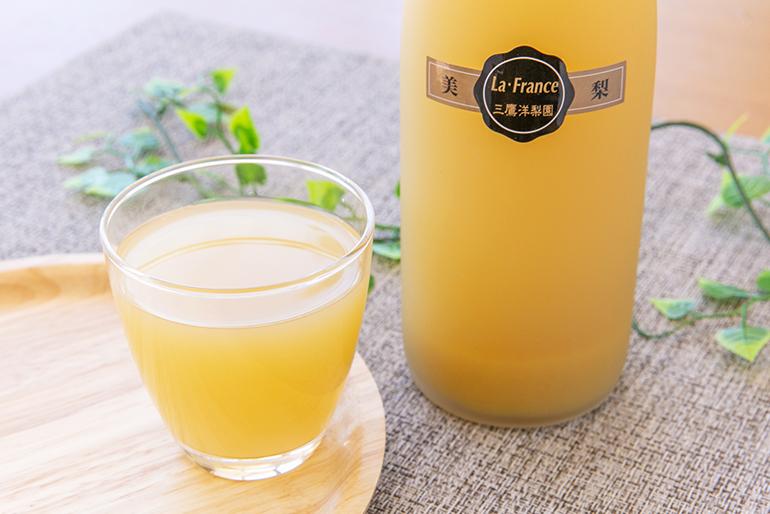ラ・フランスの芳醇な香りと、濃厚な甘さをご堪能ください