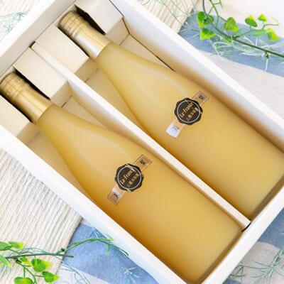 三鷹洋梨園のラ・フランス果汁100%ジュース