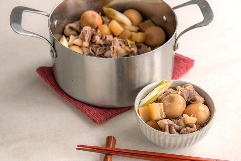 山形の老舗食品会社が作った、こだわりの芋煮セット