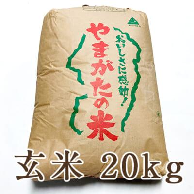 山形県産はえぬき 玄米20kg