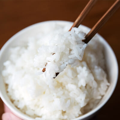 口の中でしっかりとお米の粒を感じます