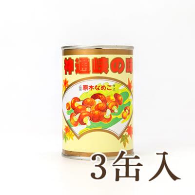 大江町産 原木なめこ 3缶入り
