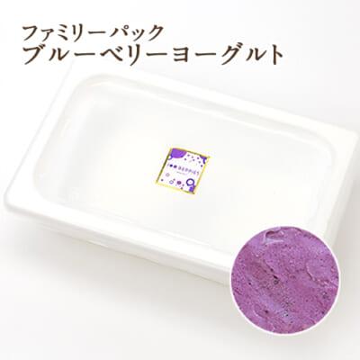 【ファミリーパック】ジェラート ブルーベリーヨーグルト 2000ml