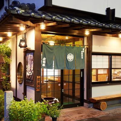 蕎麦どころ山形県で、もっとも古い老舗です