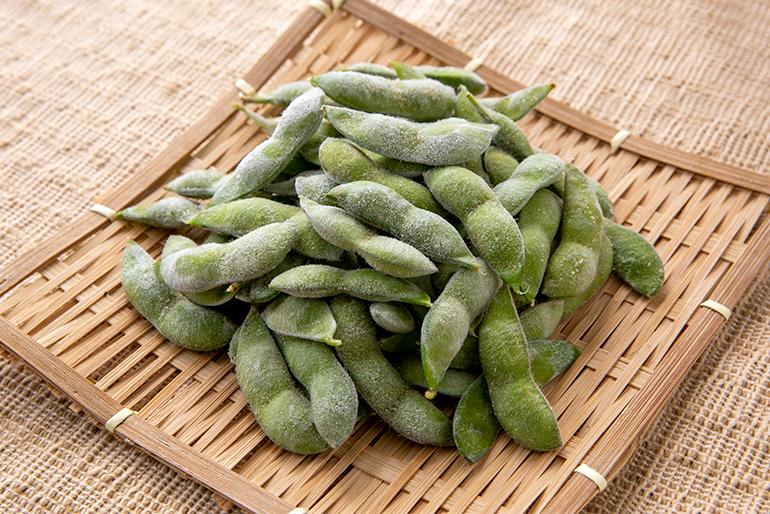旬のだだちゃ豆を冷凍でストックし、いつでも美味しく!
