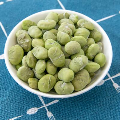 カリッポリッ、美味しい!だだちゃ豆のフリーズドライ