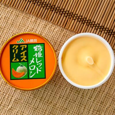 生搾り果汁を使用した濃厚なアイスクリーム