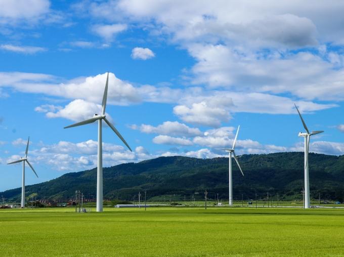 風力発電事業先駆けの町